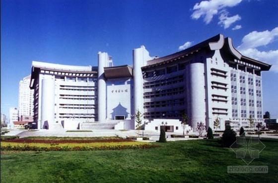[北京]框架剪力墙结构图书馆工程施工组织设计(200余页)