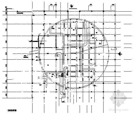 某综合楼中央空调图施工设计图