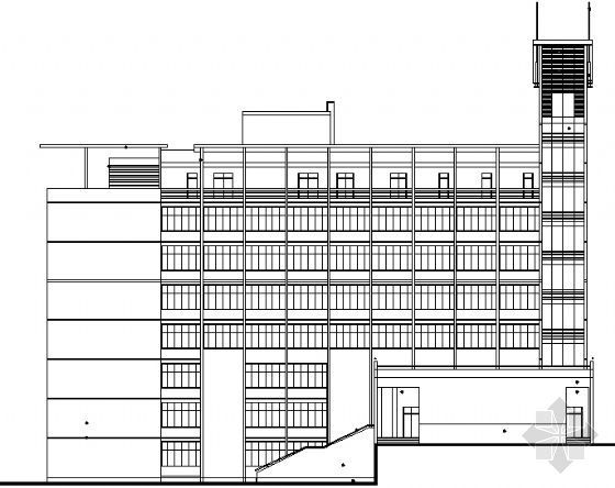 万洲公安局建筑施工图