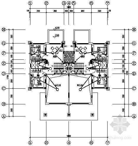 [南昌]多层洋房住宅建筑电气施工图纸