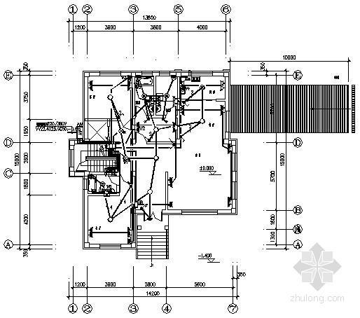 三层私人别墅电气施工图纸