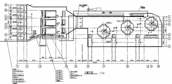 某污水处理厂细格栅及沉淀池电气图纸