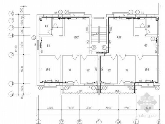 小区采暖系统施工图资料下载-[江西]住宅小区散热器采暖系统设计施工图(含大样图)