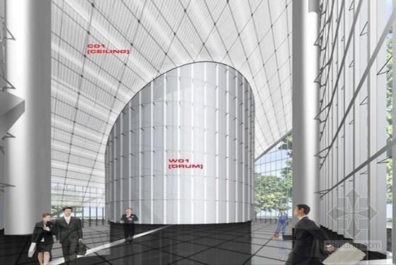 [广东]超高层框筒结构写字楼装修工程施工组织设计(303米,鲁班奖)