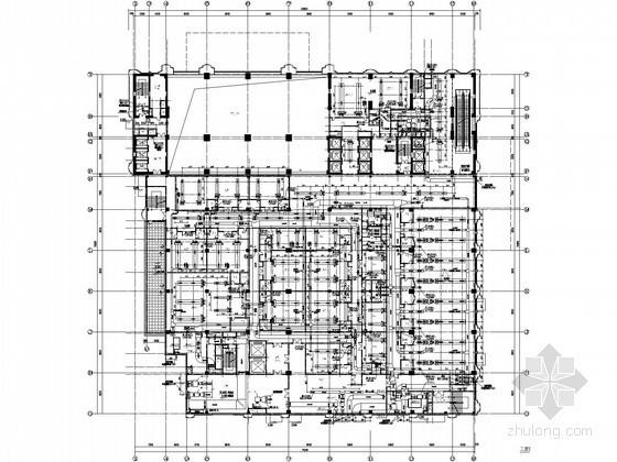 [湖北]国际大酒店暖通空调设计全套施工图纸(锅炉房 制冷机房)