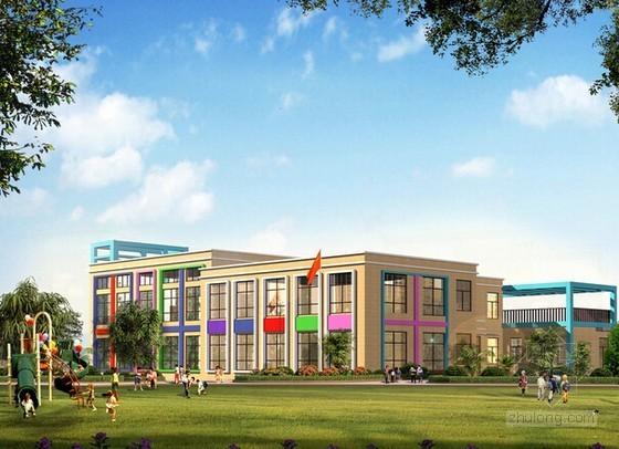 [安徽]幼儿园教学楼建筑安装工程量清单计价实例(含施工图纸)