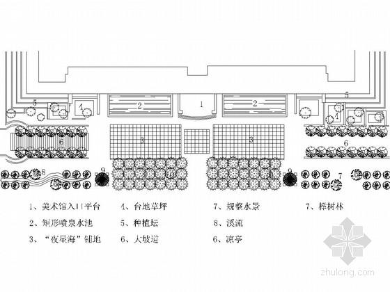 西方23个现代公园平面图集锦(CAD文件)