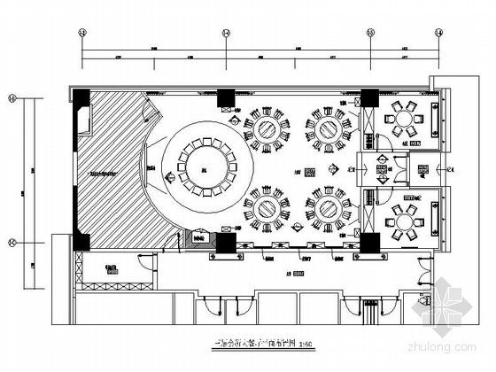 某会所大餐厅设计装修图