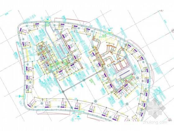 [北京]多层商业建筑空调通风及防排烟系统设计施工图(大院出品)