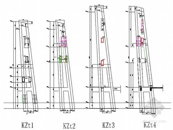 [福建]火车站站房塔柱清水混凝土模板方案(木胶板)