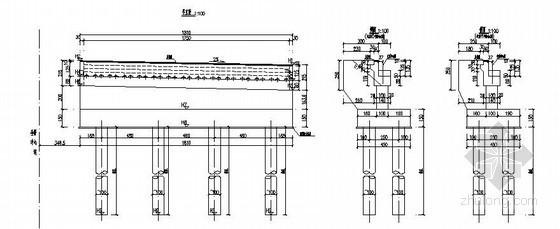 广州市某市政工程(1-23)m空心板桥设计图