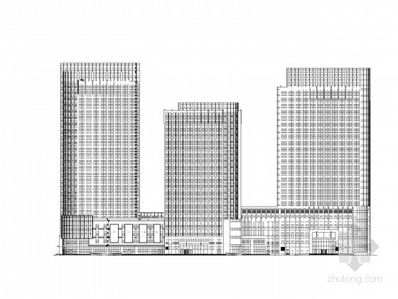 [山東]二十六層商業綜合體建筑施工圖