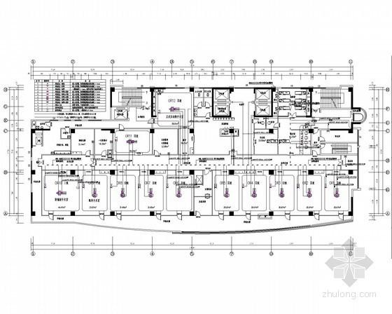 [安徽] 大型医院病房楼智能化弱电系统工程电气施工图纸110张(2014年编)