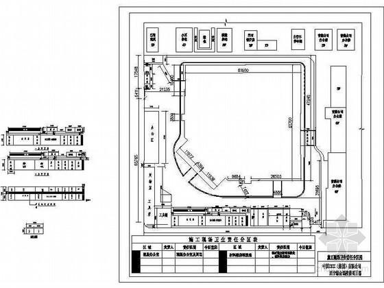 某公司施工现场三类场地的布置方案