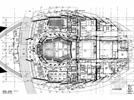 [浙江]超大型剧院空调通风系统设计施工图(大院设计)