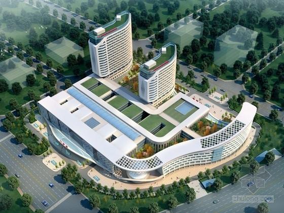 [云南]省级流线型立面现代智能化医院设计方案文本