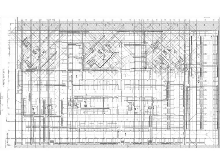 [广东]多栋超高层酒店及地下工程暖通空调全系统设计施工图