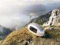 Ecocapsule:太阳能/风力发电胶囊小屋
