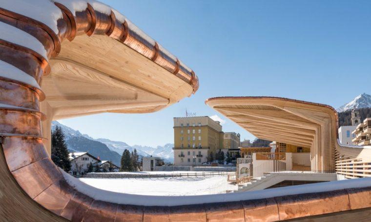 瑞士圣摩里兹Kulm社区休闲区改造