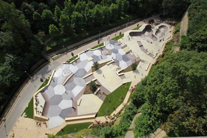 卢森堡滑板公园-3