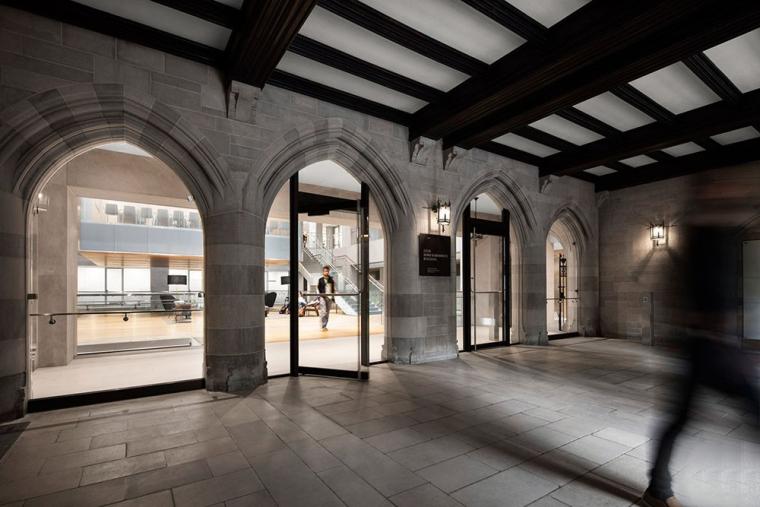 哥特式学术建筑普林斯顿大学校园内部实景图 (16)