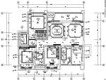[四川]时尚轻奢风样板间设计施工图(附效果图)