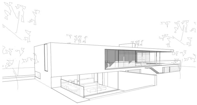 荷兰混凝土板组成的Zeist住宅-18