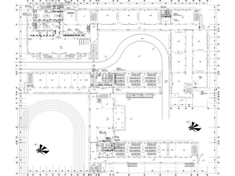 [江苏]多层教育综合楼通风及防排烟系统设计施工图