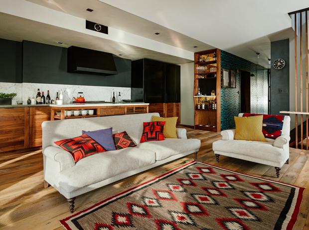 布鲁克林:丰富的色彩与自然元素交织出独特的居家环境