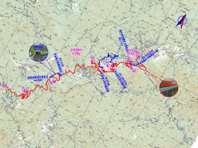 [北京]8.5米宽路基全长19Km三级公路工程可行性研究报告213页(附图纸255张)