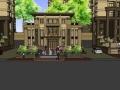 新古典风格高层住宅精SU模型