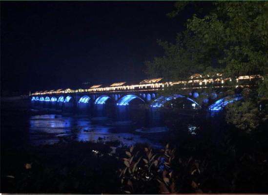 浙江松阳木结构工程项目之石门圩木结构观光廊桥
