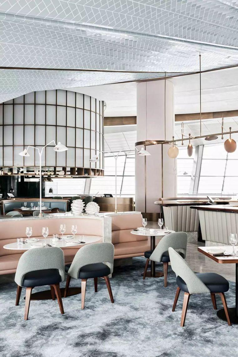 迪拜地标旁的2000平米超大餐厅,精致细节成就奢华设计_8