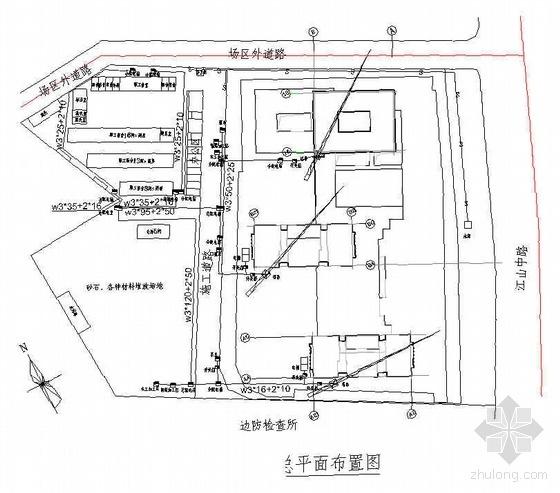 青岛某商业广场施工组织设计(鲁班奖 32层)