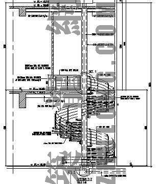 钢结构旋转楼梯结构施工图(英文)