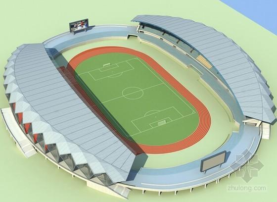 综合体育钢结构屋盖系统施工组织设计(附图)