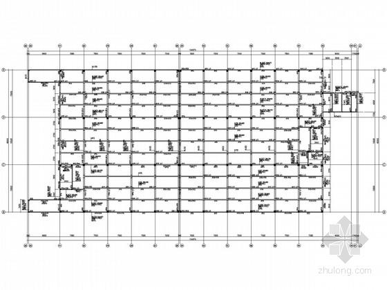 45米跨3层钢屋架厂房结构施工图
