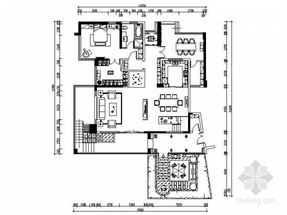 [珠海]低调奢华新中式风格三层别墅方案设计(含效果图及实景照片)