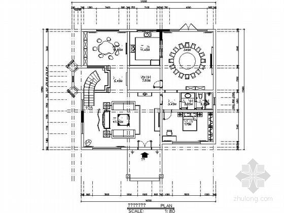 现代高档三层新中式别墅室内装修图(含效果)