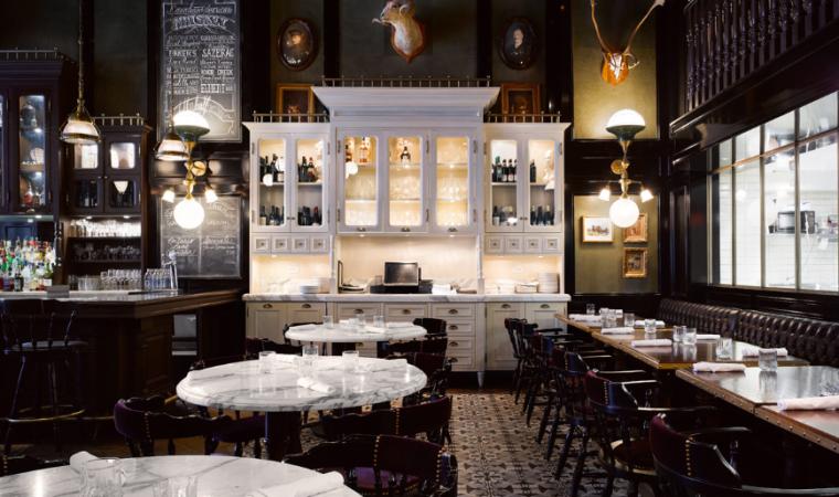 多伦多weslodge餐馆室内设计方案