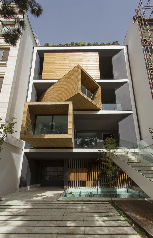 转动的盒子Sharifi-ha住宅