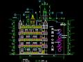 4层幼儿园建筑设计图