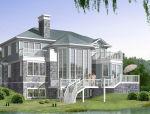 3层独栋别墅建筑方案设计(CAD)