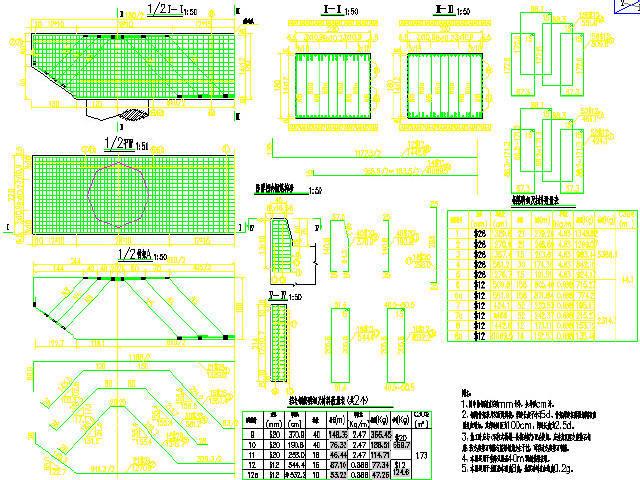 [甘肃]2016年设计双向四车道国家高速公路桥梁通用图381张CAD(简支梁,小箱梁,箱涵)