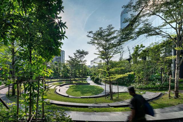 15-新加坡Comtech商业园区景观设计第15张图片