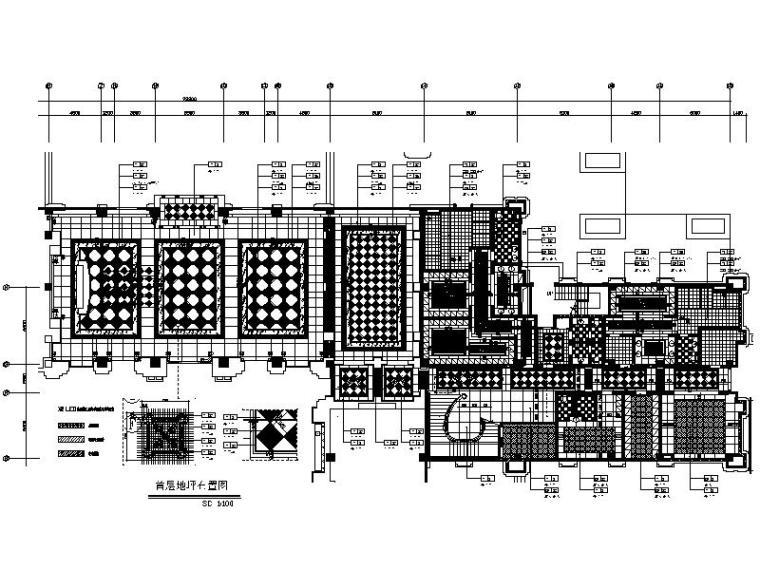 [武汉]休闲室内高尔夫会所设计施工图(含效果图)