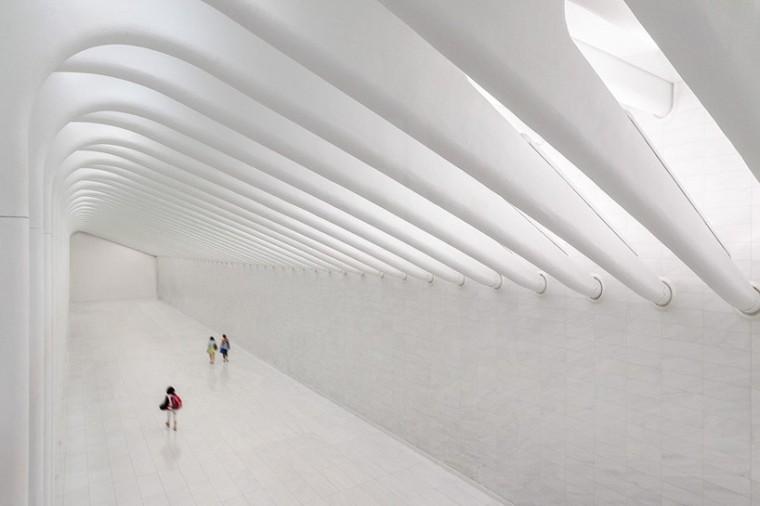 超级空间-纽约世贸中心交通枢纽初探
