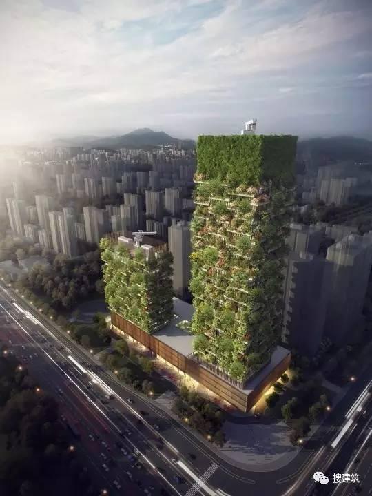 """中国第一座垂直""""森林之城"""",2018年竣工!"""