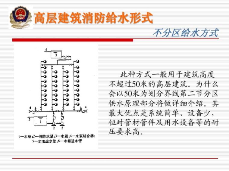 高层建筑消防给水系统培训