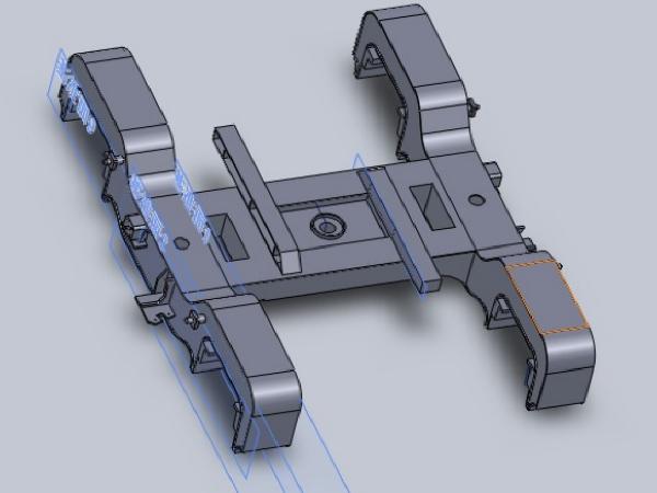 [毕业设计]A型地铁车辆动车转向架设计